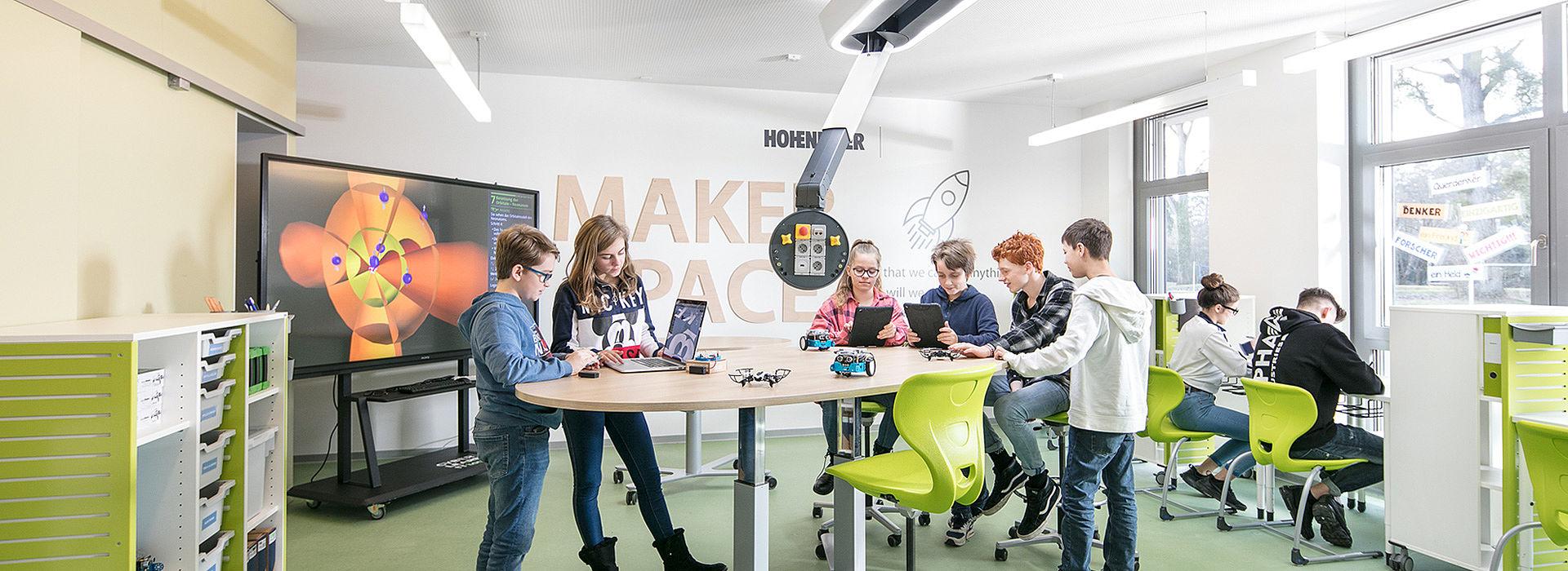 Bild: Coding & Robotics im Makerspace