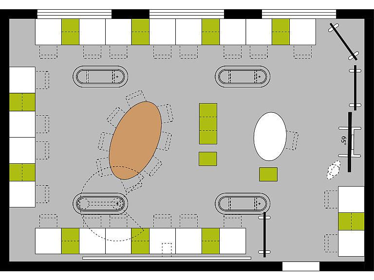 Bild: Maker Space im Lernraum, Einzelarbeit
