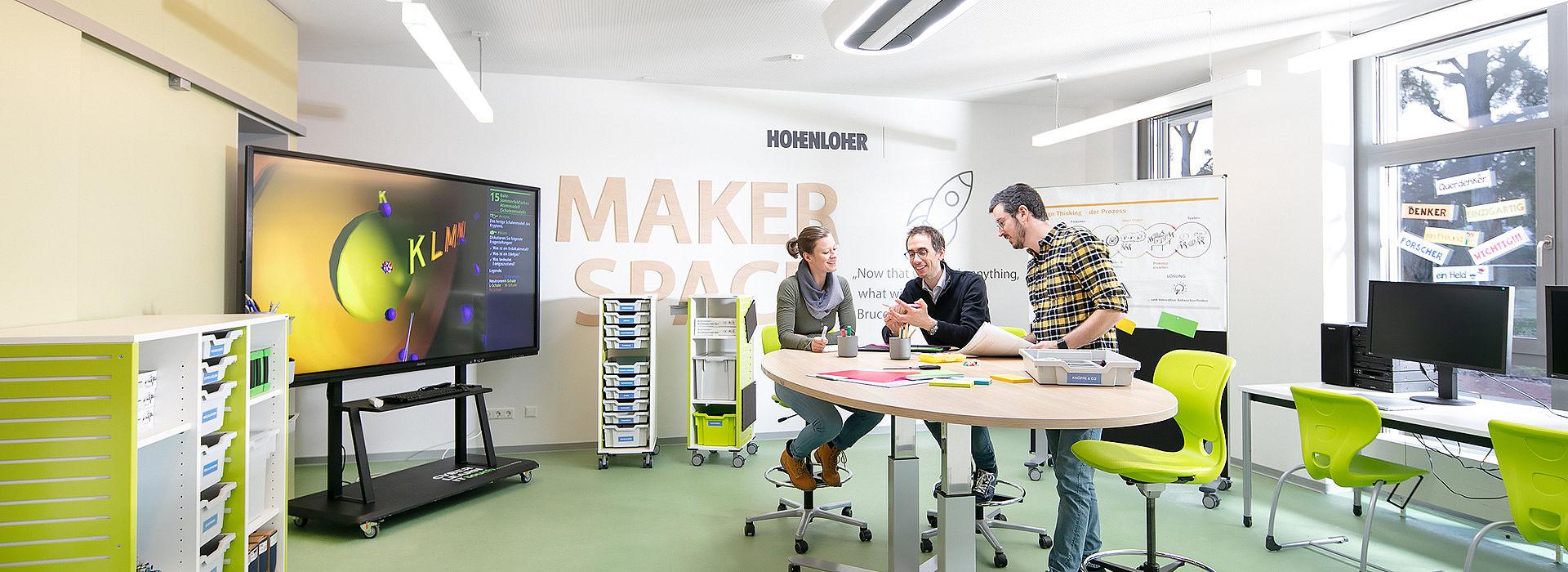 Bild: Design Thinking im Makerspace
