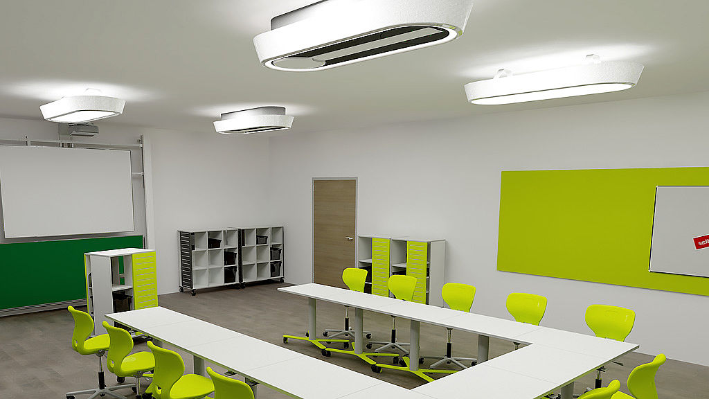 Image: Multifunctional space with Fly Light®