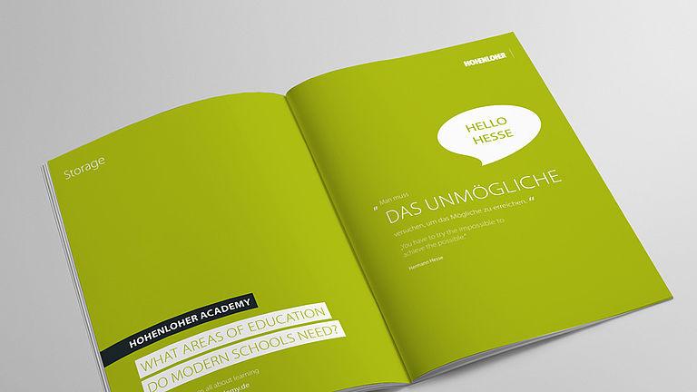 Image: Storage brochure