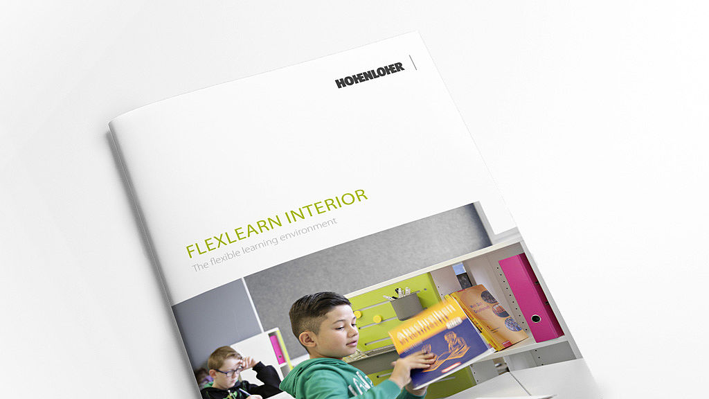 Front page FlexLearn Interior brochure