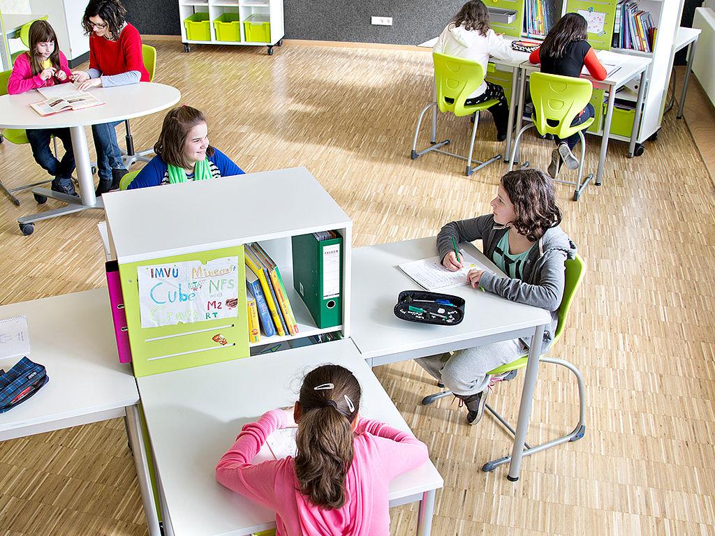 Bild: Lernarbeitsplätze