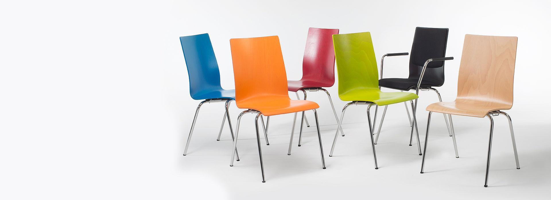 Bild: Komfortablen MAX Stühle mit diversen Optionen