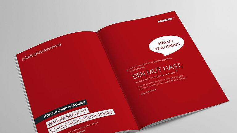 Bild: Arbeitsplatzsysteme Broschüre