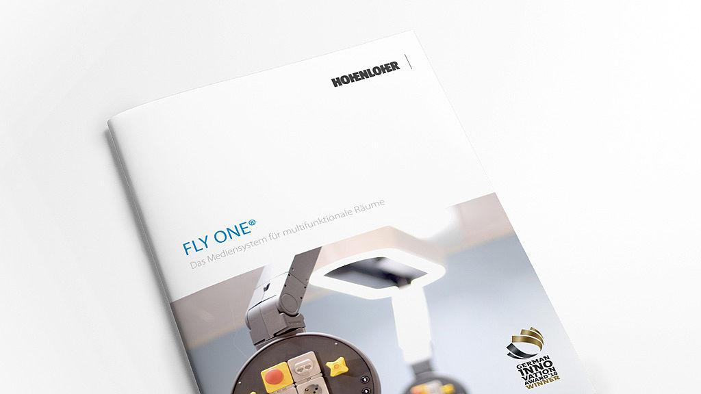 Bild: Aktuelle Fly One® Broschüre