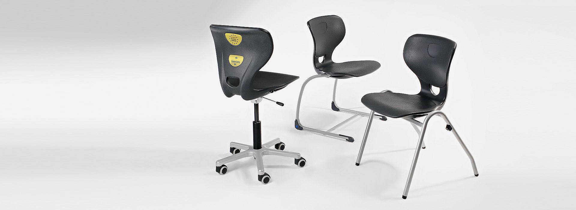 Bild: SEDIAMO® Stühle - SEDIAMO® Cross, Swing und Quadro