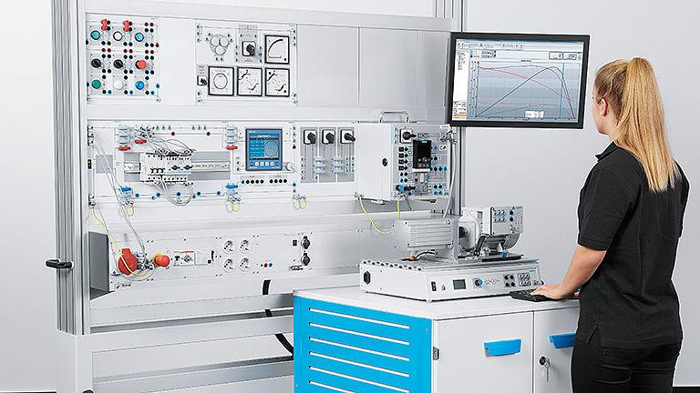 Bild: Elektrische Antriebstechnik