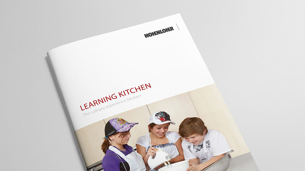 Room concept learning kitchen brochure