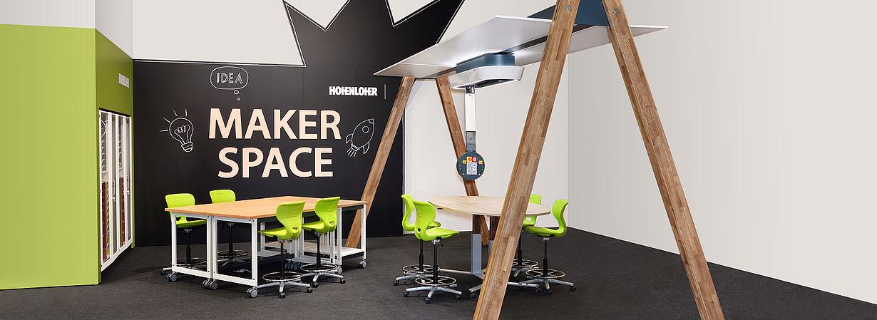 Bild: Anwendung der SBACE-Bridge im Makerspace