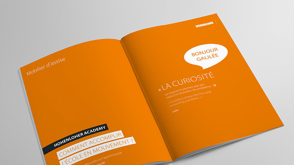 Image: Mobilier d'assise francais brochure