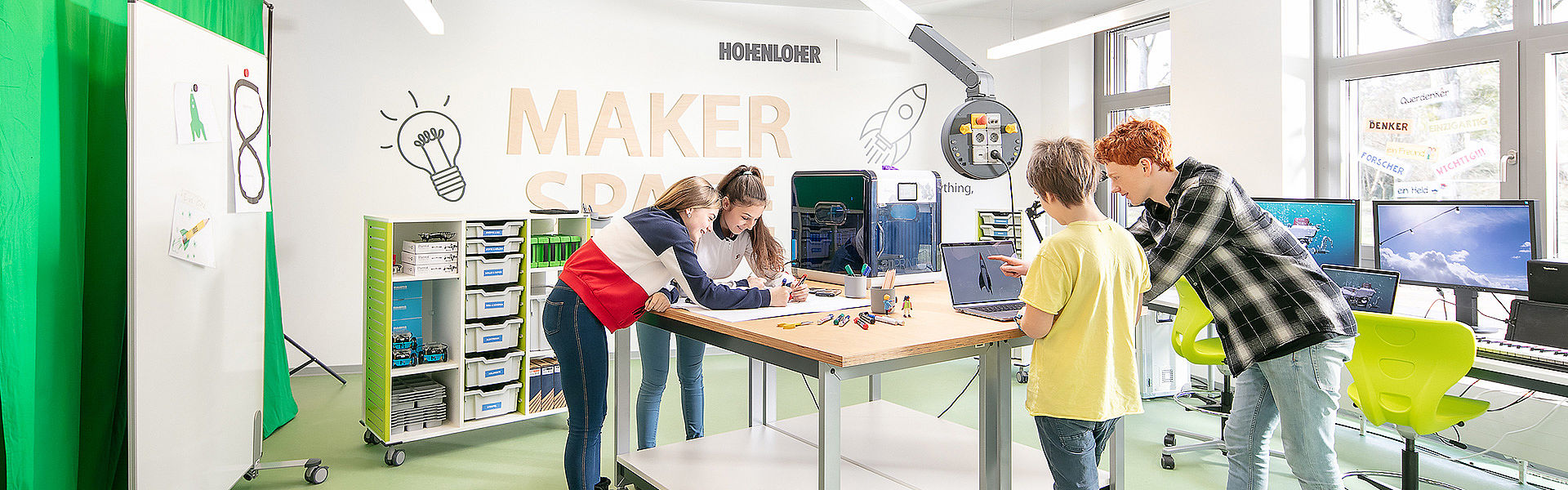 Bild: Academy Hamm - Thema Makerspace