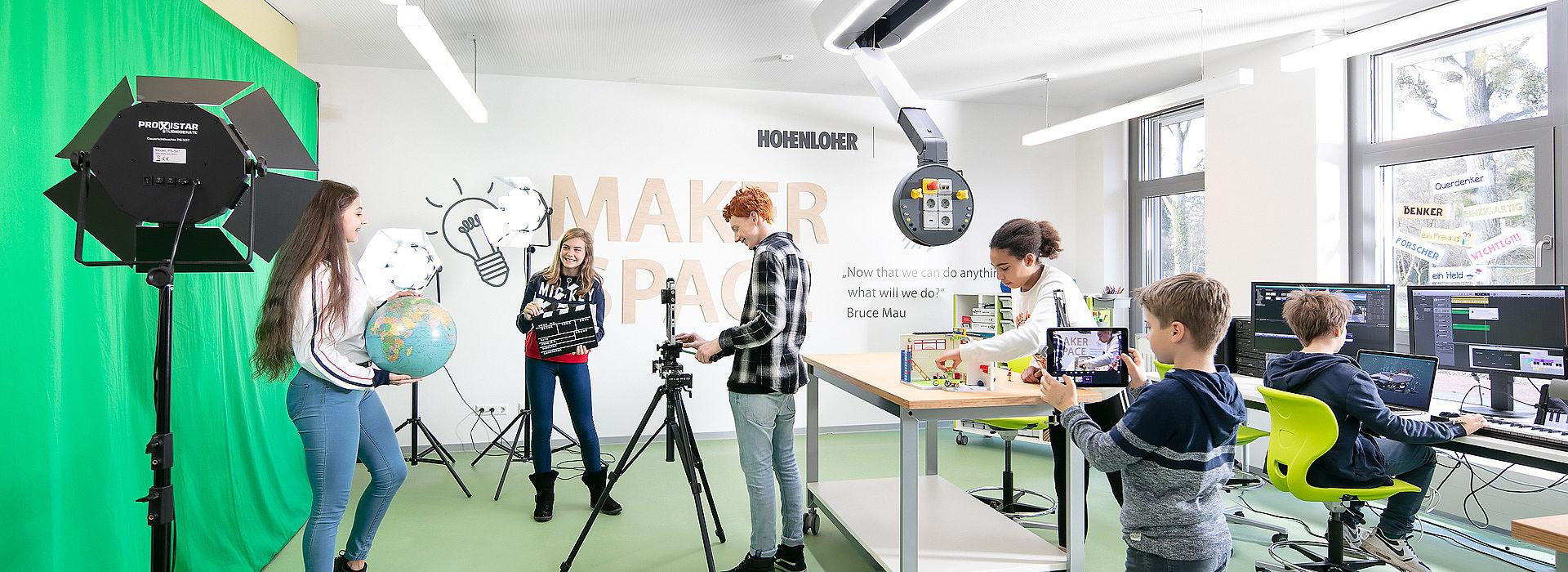 Bild: Video Production im Makerspace