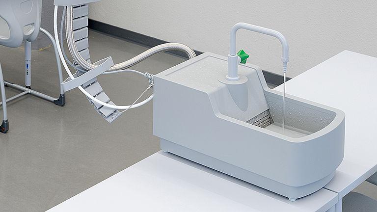 Bild: Medienflügel Wasser Ver- und Entsorgung