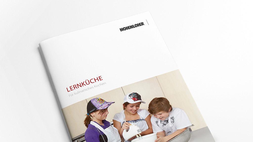 Bild: Aktuelle Lernküche Broschüre