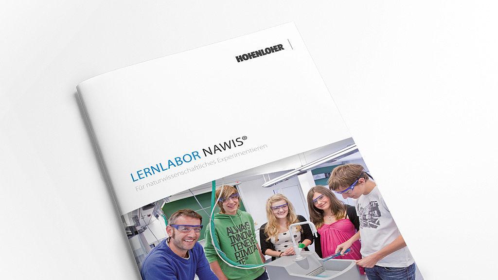 Bild: Lernlabor NAWIS® Raumkonzept Broschüre