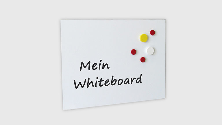 Bild: Magnetboard Whiteboard
