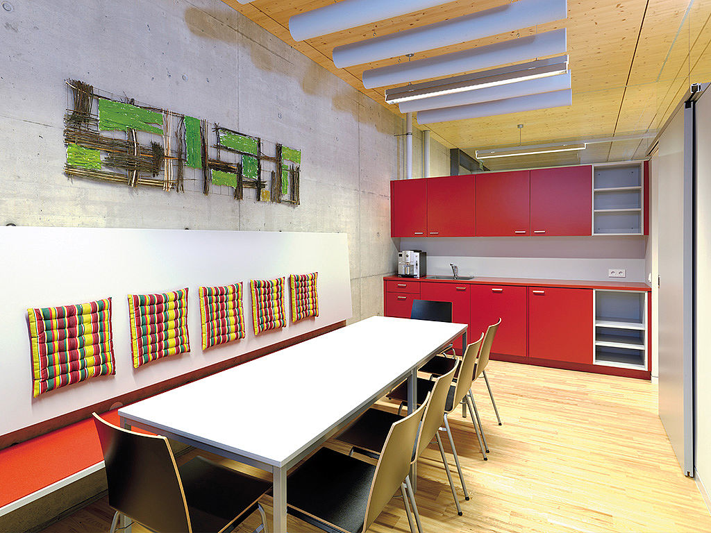 Bild: Küchenbeispiel mit Ausspeisungsbereich