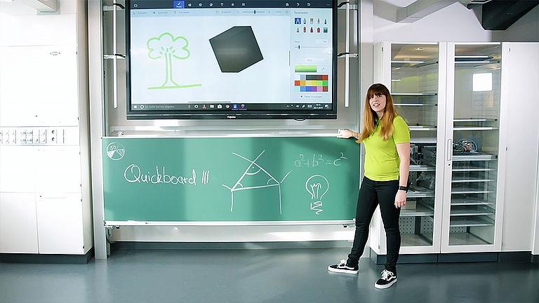 Video: Quickboard 3 Tafelsystem