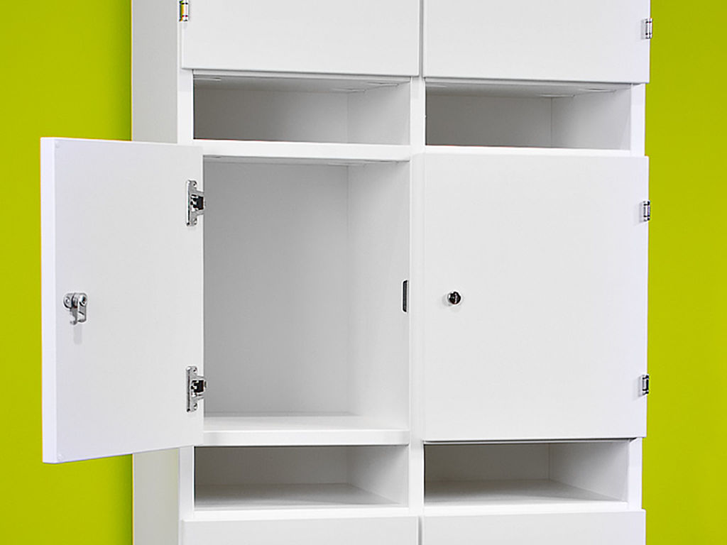 Powdercoated cabinet