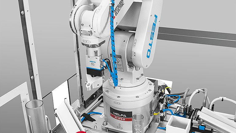 Bild: Robotik und Simulation