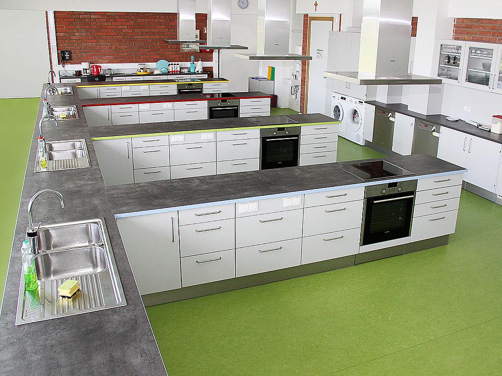 Bild: Küchenbeispiel mit Lerninseln