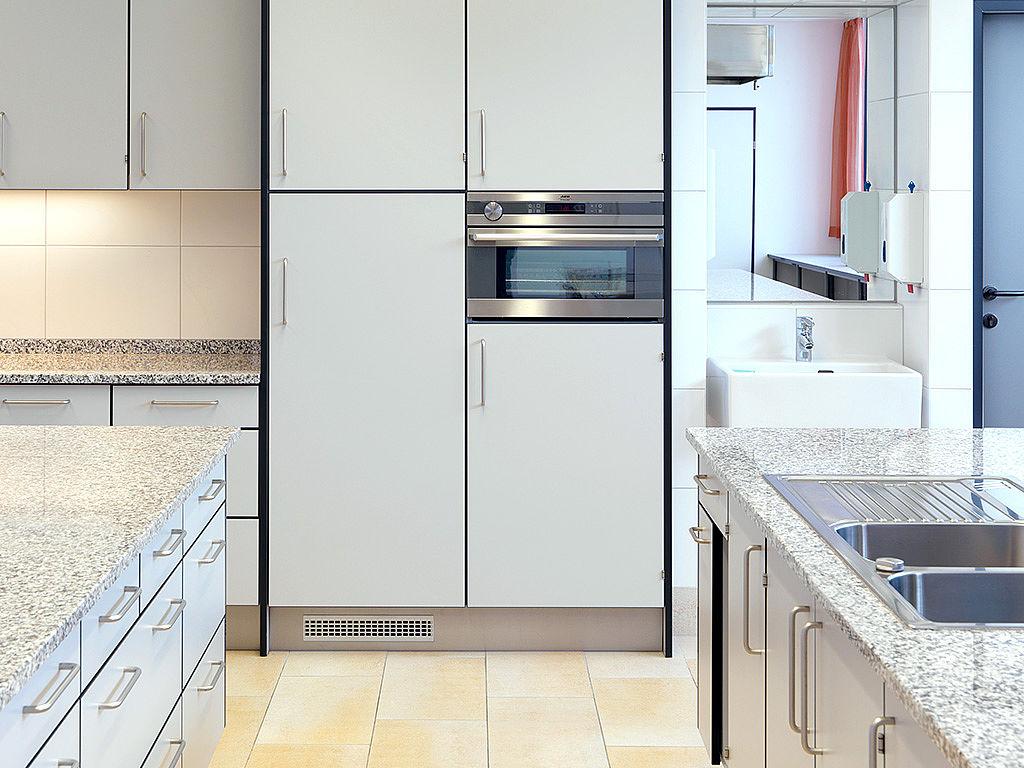Bild: Küchenbeispiel mit Ergonomie pur