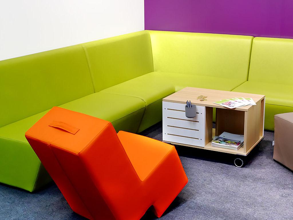 Bild: Polstermöbelsystem aus Kunstleder