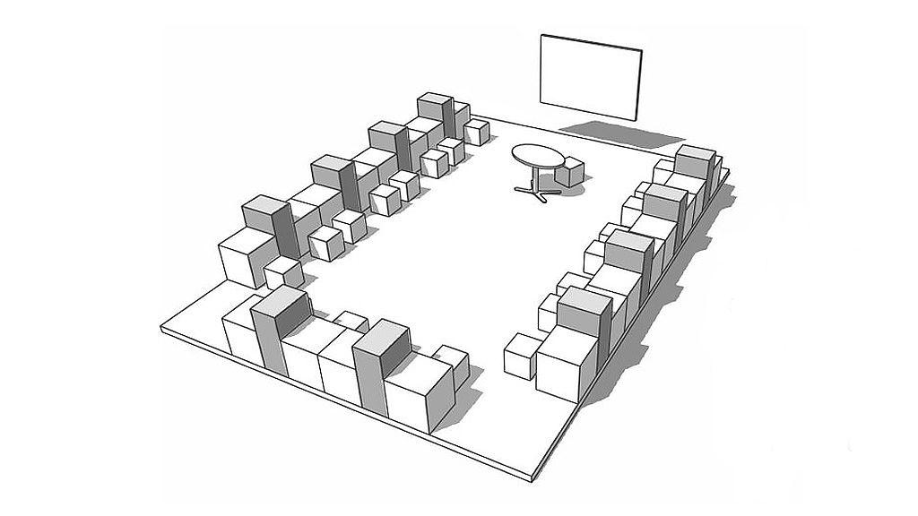 Bild: Einzelarbeit im Lernraum
