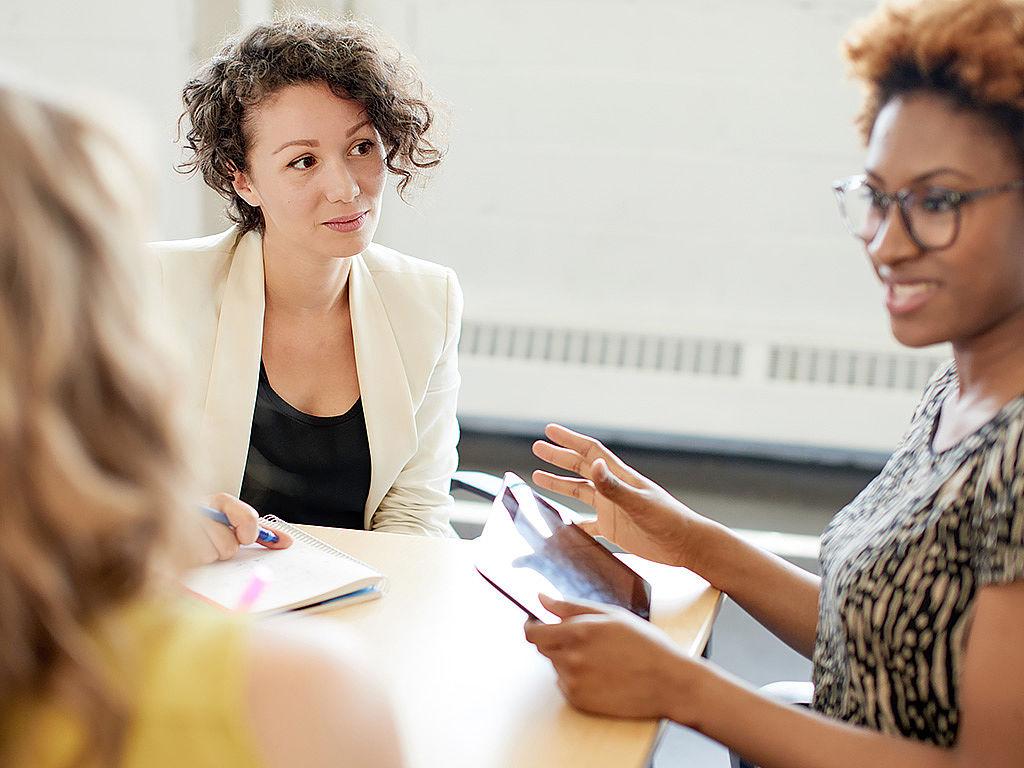 International Business team conversation