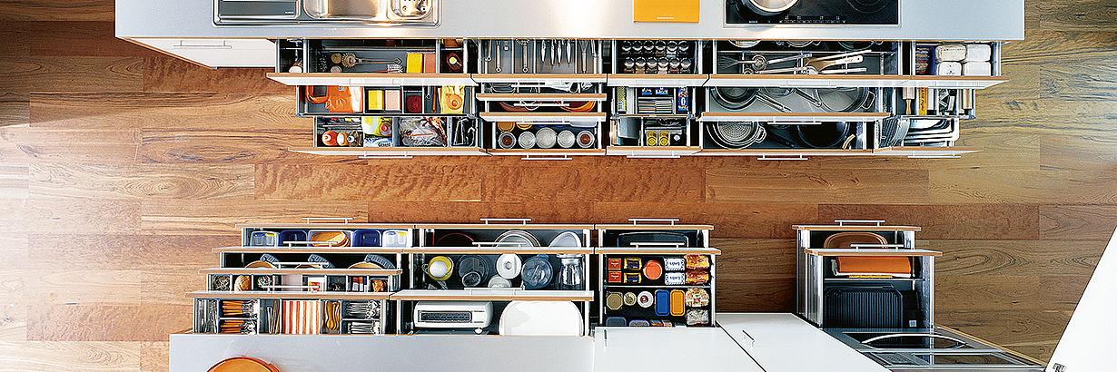 Bild: Aufbewahrung in der Küche