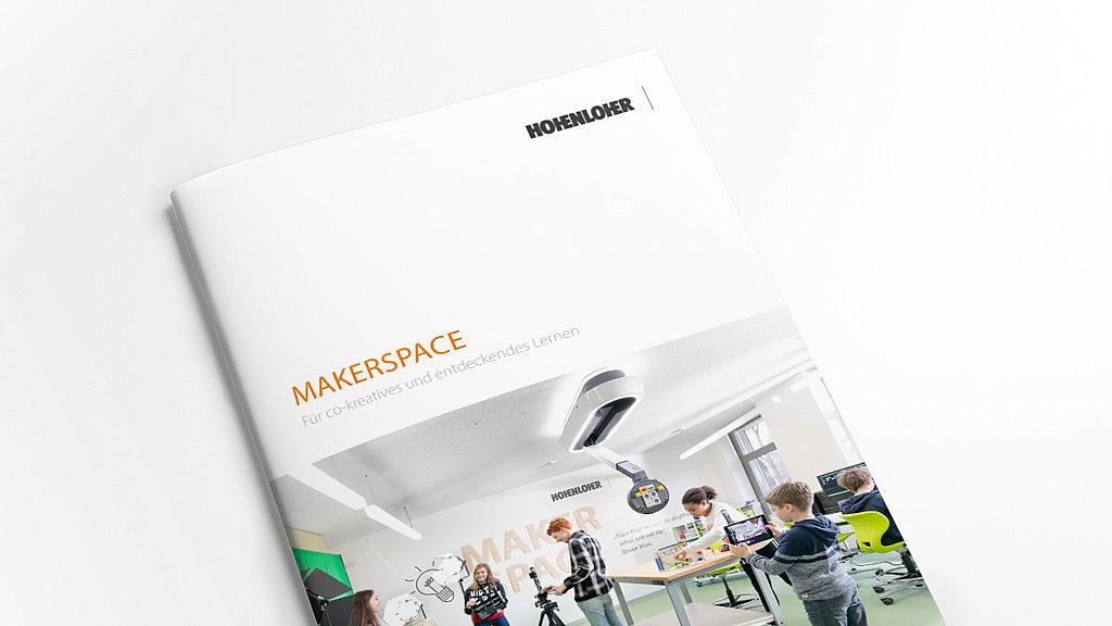 Bild: Aktuelle Makerspace Broschüre