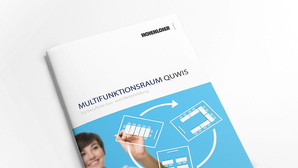 Bild: Multispace QUWIS® Raumkonzept Broschüre