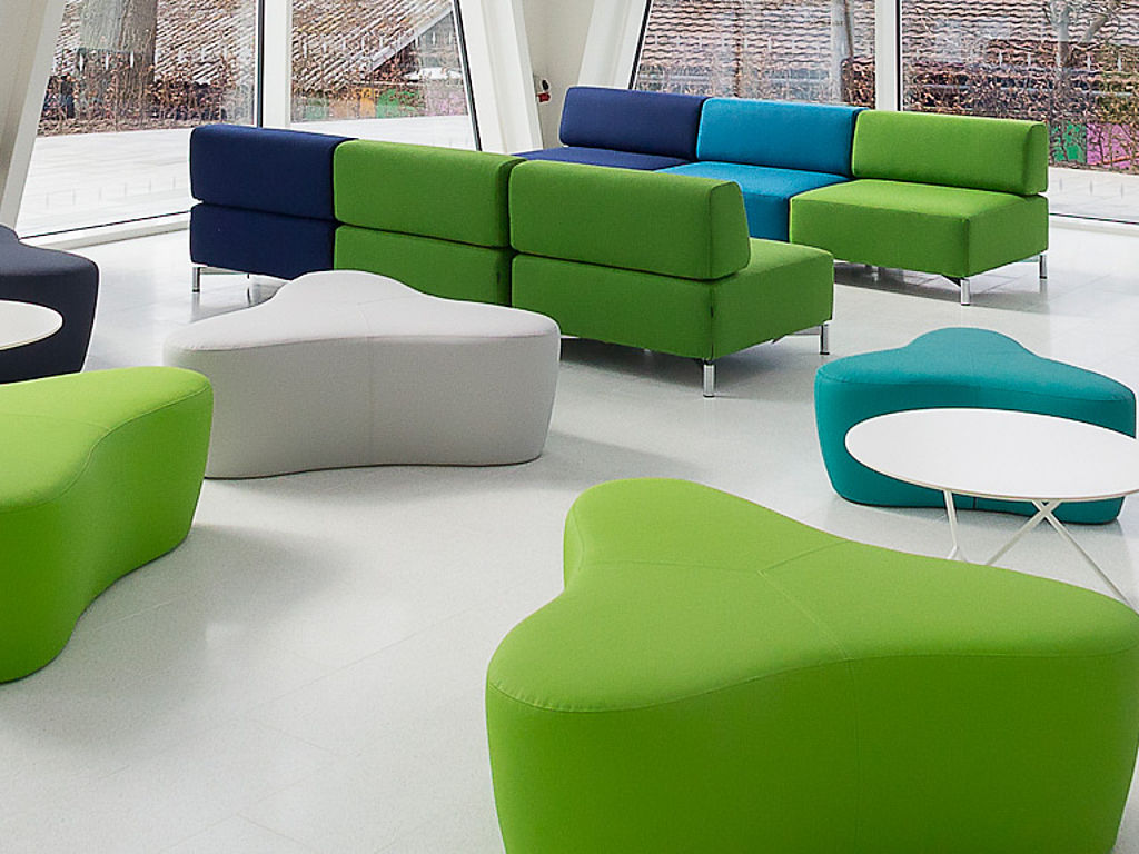 Seating furniture fabric surface
