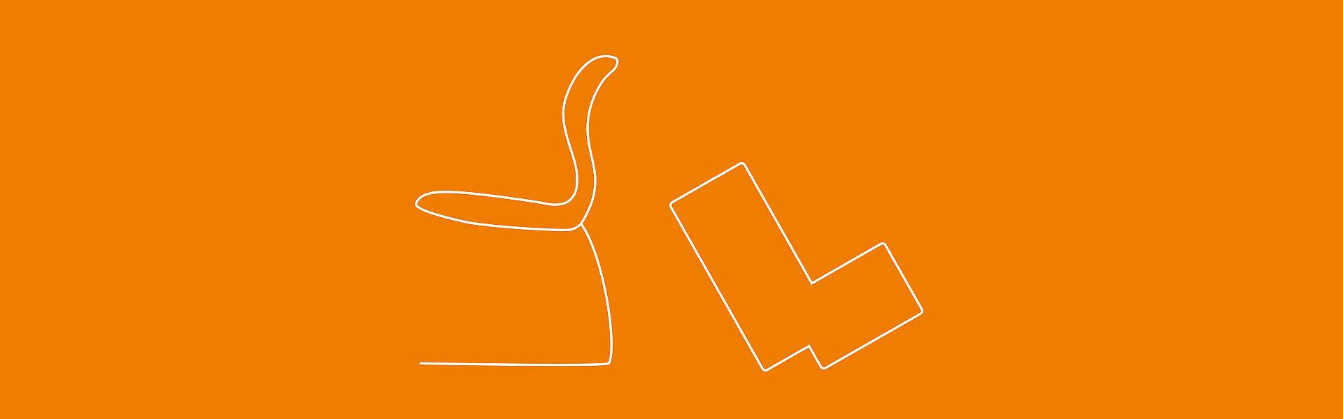 Illustration: Sitzmöbel von Hohenloher