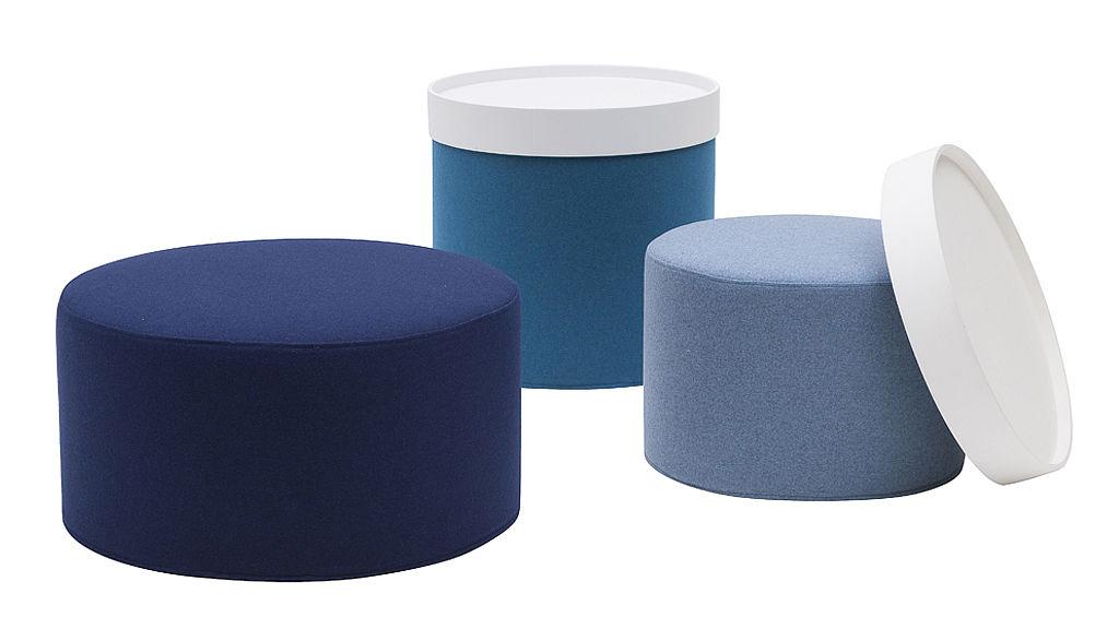 Bild: Sitzzylinder in drei verschiedenen Größen