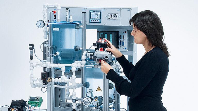 Bild: Kompakte Prozesstechnik