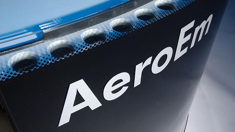 Bild: Ausgeklügelte Lufttechnik des AeroEm