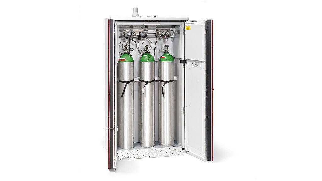 Bild: Druckgasflaschenschrank